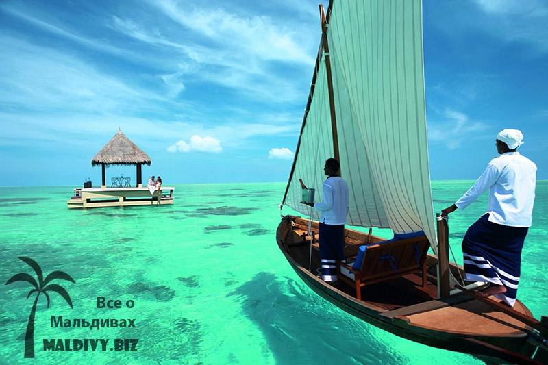 Путешествие на остров.