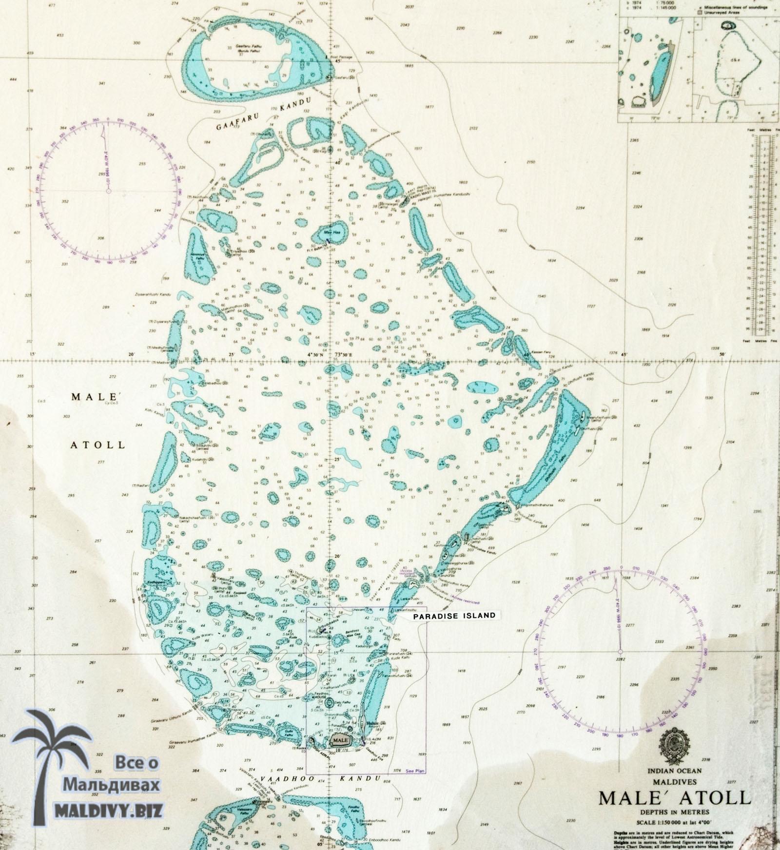 атолл Северный Мале