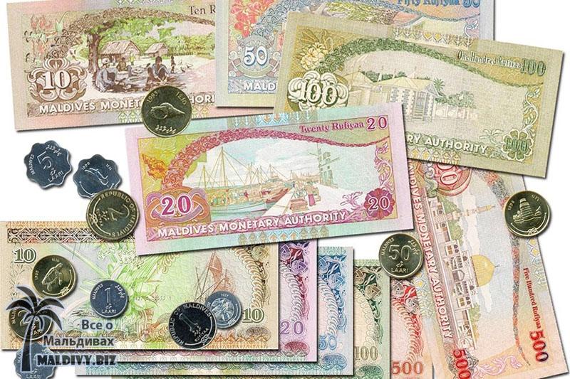 Валюта на Мальдивах или все про деньги.