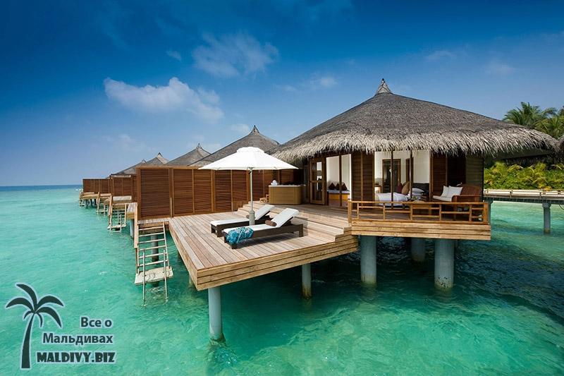 Домик на Мальдивах