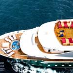 Яхты на Мальдивах.