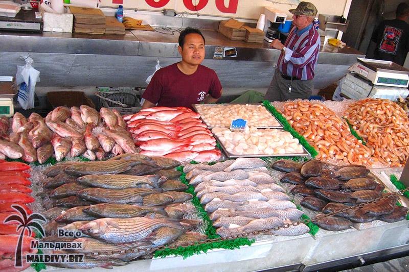 Цены на еду на Мальдивах